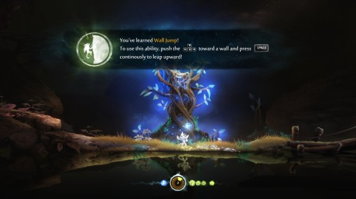 Unlocking abilities from the  spirit trees