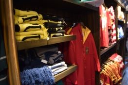 All the Harry Potter merchandise you can want - robes, shirts, sweaters, scarves, key chains, wands, necklaces, etc.