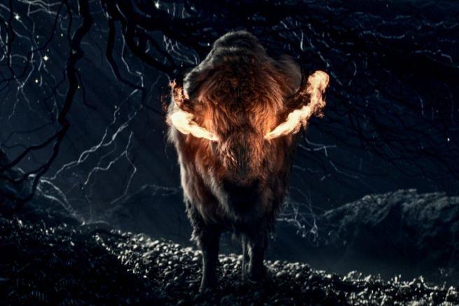 Flaming Bison