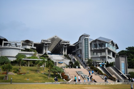 Okinawa Churaumi Aquarium Building