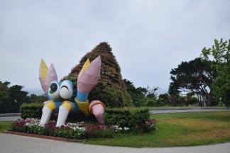 Okinawa Churaumi Aquarium Crab Thing