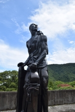 Hakone Open-air Museum Gazer Statue