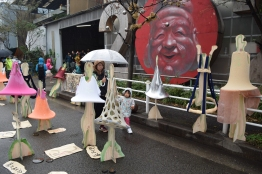 Manikin fashion exhibit.